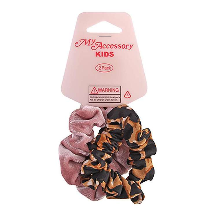 My Accessory Kids Velvet Scrunchies 2 Pack