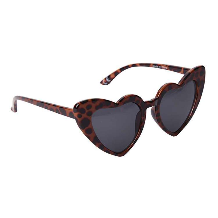 My Accessory Kids Leopard Heart Fashion Spectacles