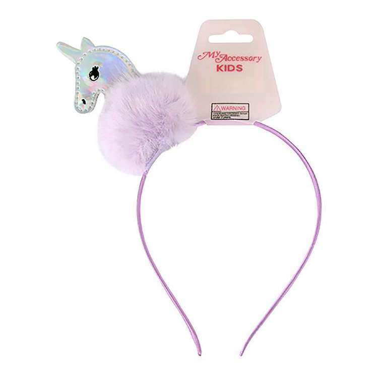 My Accessory Kids Pom Unicorn Alice Band