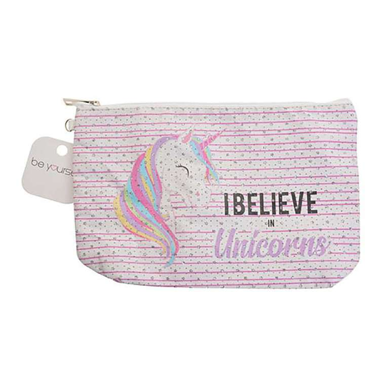 Be Yourself Believe In Unicorns Cosmetic Bag