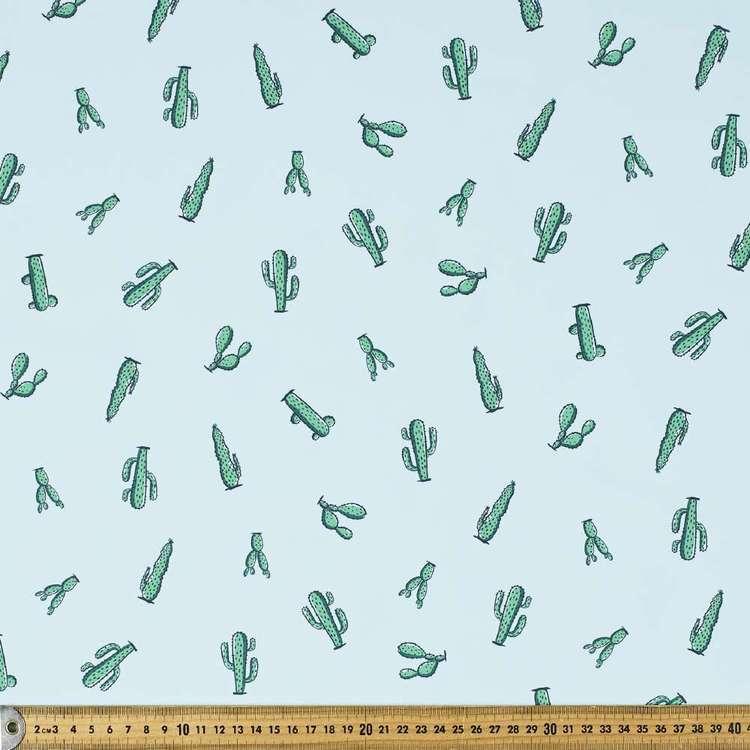 Cactus Printed 150 cm Trunks Microfiber Fabric