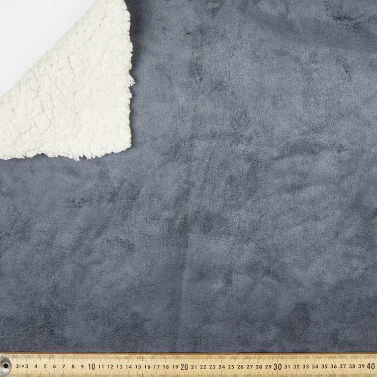 Sherpa Pleather 148 cm Fabric
