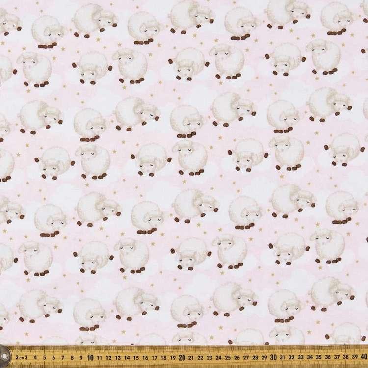 Sleepy Sleepy Printed 112 cm Flannelette Fabric