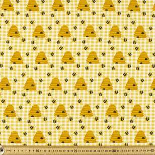 Get Buzzy Printed 112 cm Flannelette Fabric