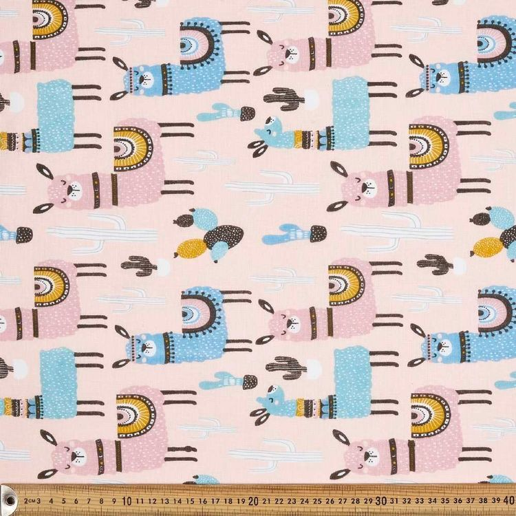 Llama Multipurpose Cotton Fabric