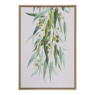 Ombre Home Boho Bloom Wattle Framed Canvas