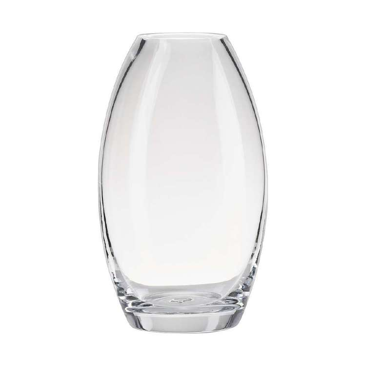Living Space Lacey Vase Clear 11 x 19 cm
