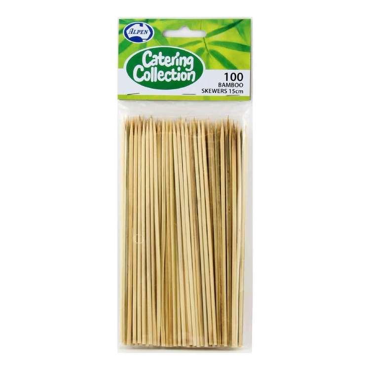 Alpen Bamboo Skewers 100 Pack