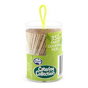Alpen Party Cocktail Picks 350 Pack