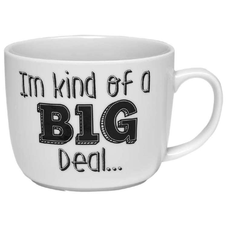 Ashdene My Big Mug Big Deal Mug