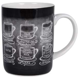 Ashdene Lily & Val Coffee Style Large Can Mug
