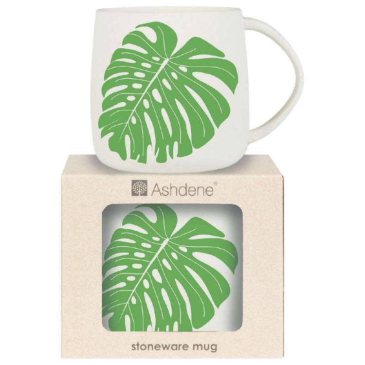 Ashdene Maison Monstera Green Mug