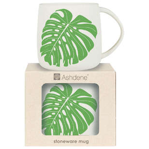 Ashdene Maison Monstera Green Mug