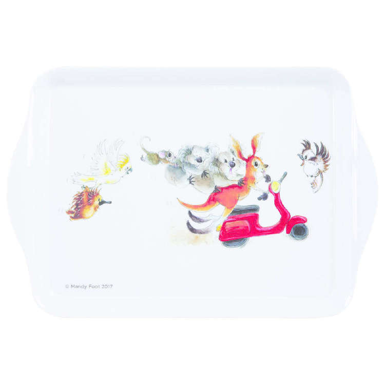 Ashdene Matilda On The Move Scooter Scatter Tray Multicoloured