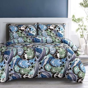 Brampton House Lior Quilt Cover Set