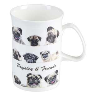 Ashdene Pugsley & Friends Can Mug