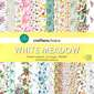 Crafters Choice White Meadow Paper Pad Multicoloured 12 x 12 in
