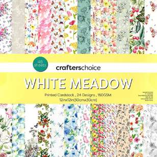 Crafters Choice White Meadow Paper Pad
