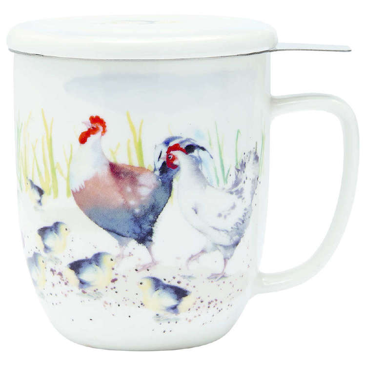 Ashdene Country Chickens 3 Piece Infuser