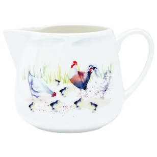 Ashdene Country Chickens Creamer
