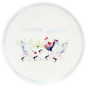 Ashdene Country Chickens Plate