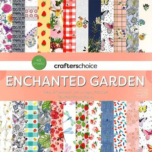 Crafters Choice Enchanted Garden Paper Pad