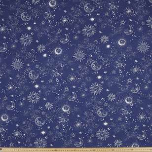 Celestial Printed Rayon Knit Fabric