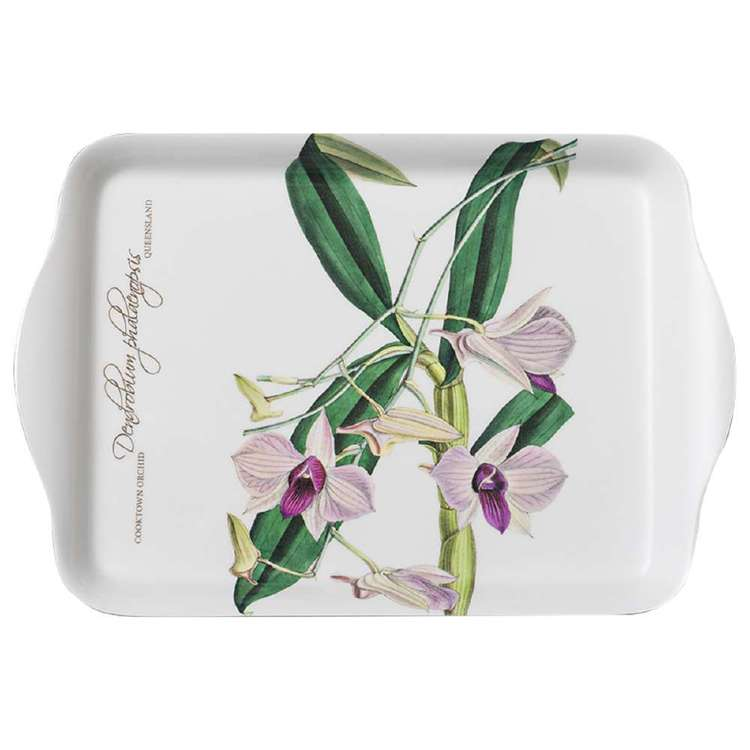 Ashdene Floral Emblems Cooktown Orchid Tray