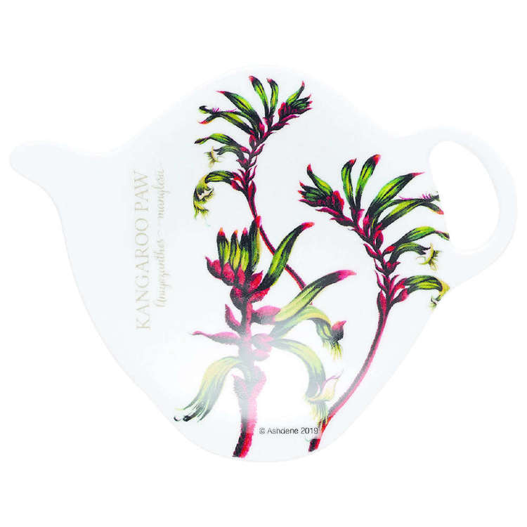 Ashdene Floral Emblems Kangpaw Tea Bag Holder