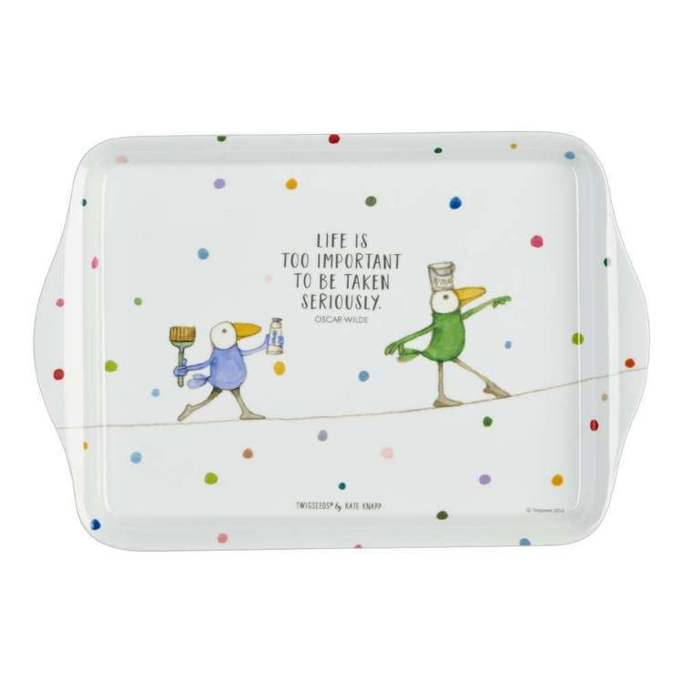 Ashdene Twig seeds Wilde Life Scatter Tray Multicoloured