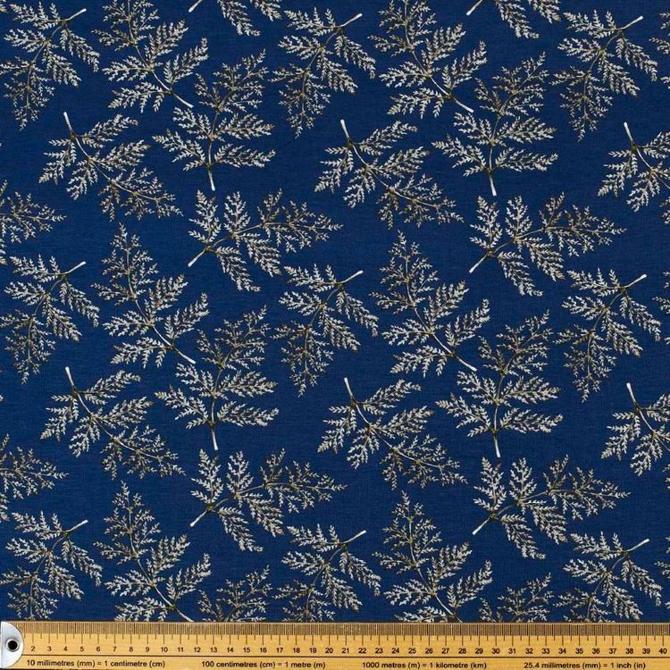 Ferns Printed Rayon Knit Fabric