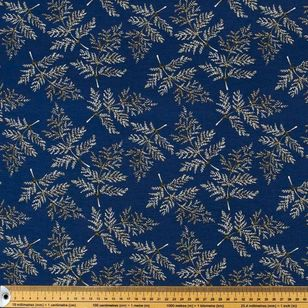 Ferns Printed Rayon Knit Fabric