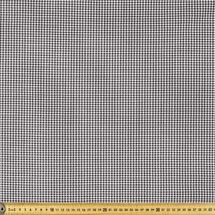 Little Houndstooth Check Printed 142 cm Poly Viscose Spandex Fabric