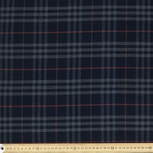 Yarn Dyed Check Printed VPS Fabric