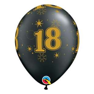 Qualatex 18th Sparkle Balloon