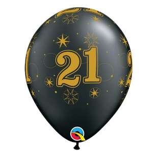 Qualatex 21st Sparkle Balloon