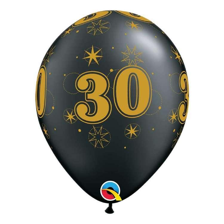 Qualatex 30th Sparkle Balloon
