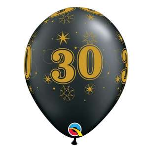 Qualatex 30th Sparkle Balloon