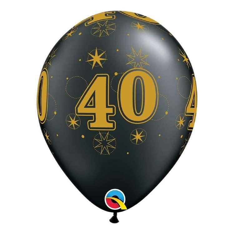 Qualatex 40th Sparkle Balloon
