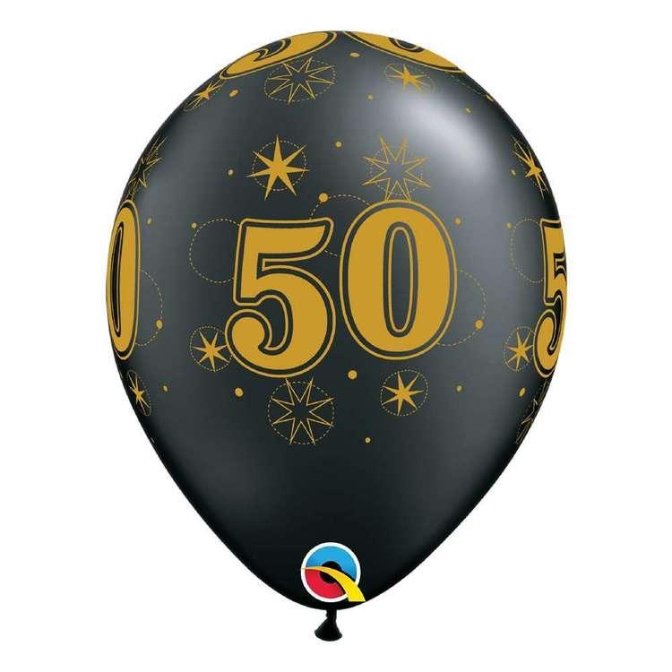 Qualatex 50th Sparkle Balloon