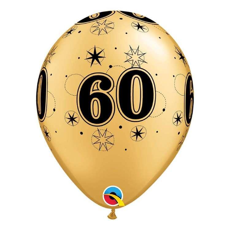 Qualatex 60th Sparkle Balloon