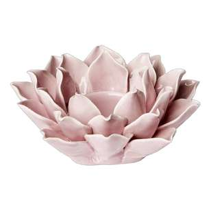 Ombre Home Classic Chic Ceramic Flower Candle Holder