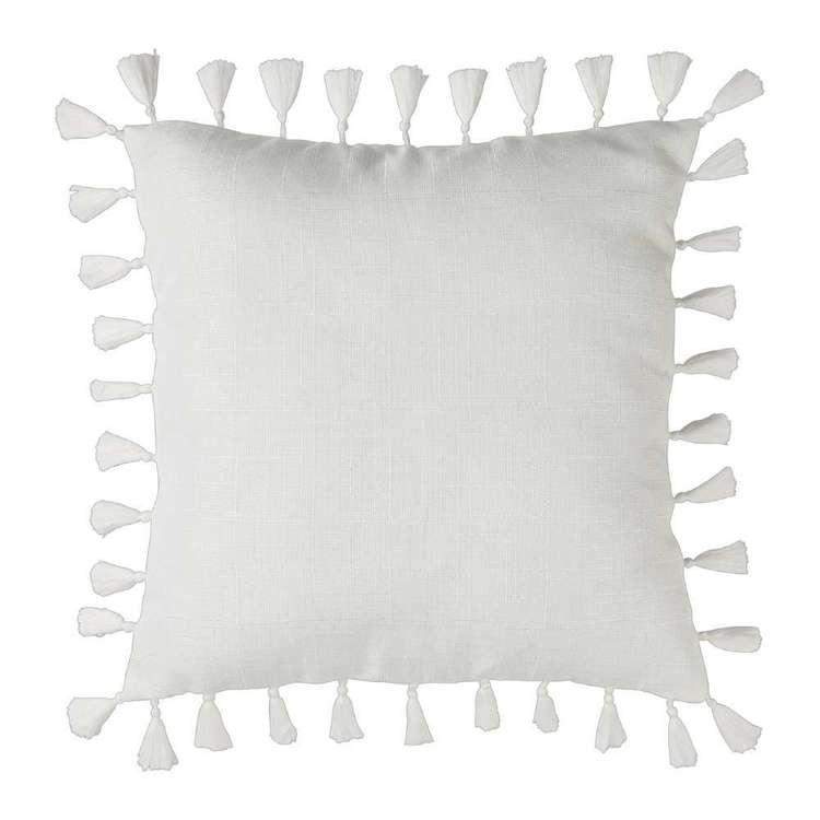 Ombre Home Classic Chic Tassel Cushion