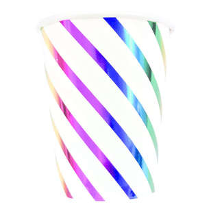Artwrap Rainbow Paper Cups 8 Pack