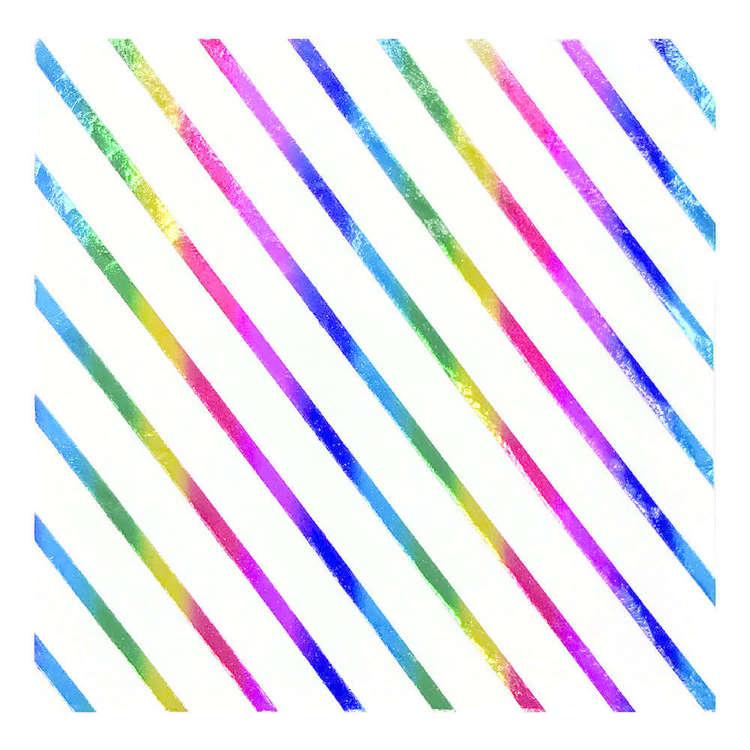 Artwrap Rainbow Lunch Napkins 10 Pack
