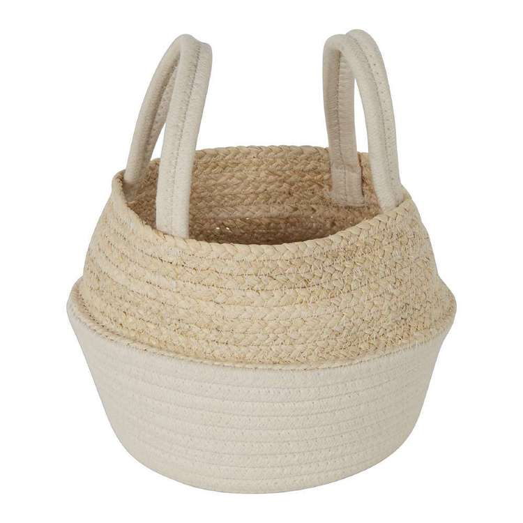 Ombre Home Boho Bloom Basket With Handles