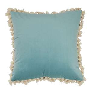 Ombre Home Boho Bloom Cushion With Tassels