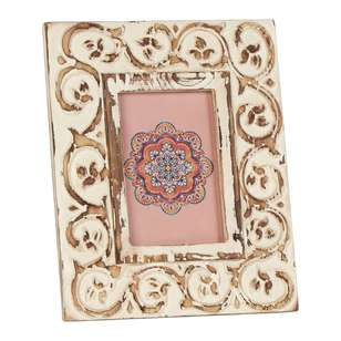 Ombre Home Boho Bloom Etched Frame
