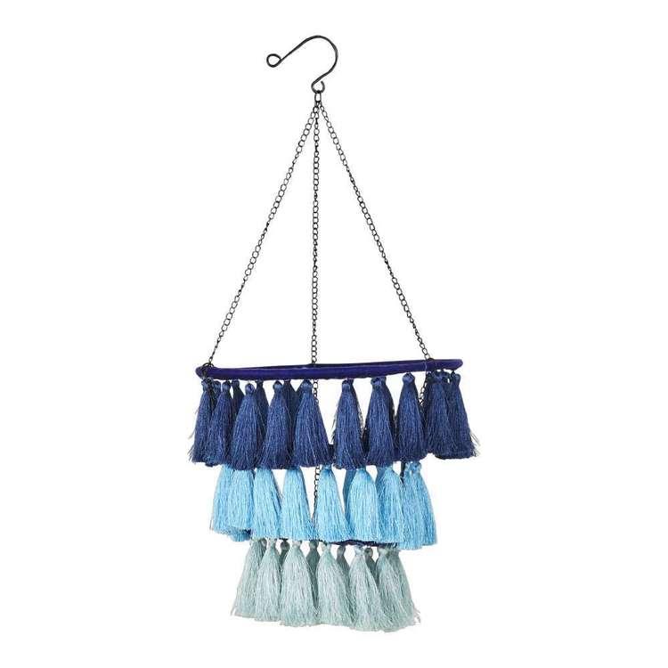 Ombre Home Boho Bloom Hanging Tassel