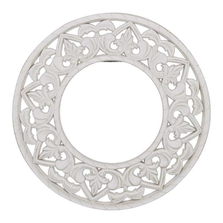 Ombre Home Boho Bloom Etched Mirror